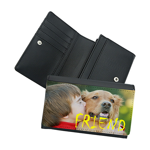Custom 6 Inch Leather Wallet [WL-DK003]
