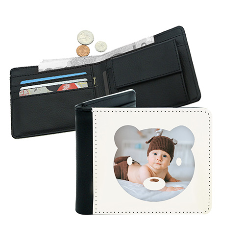Custom 5 Inch Leather Wallet [MEN-CN004]