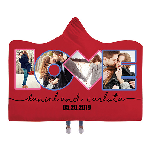 Custom Hooded Blankets