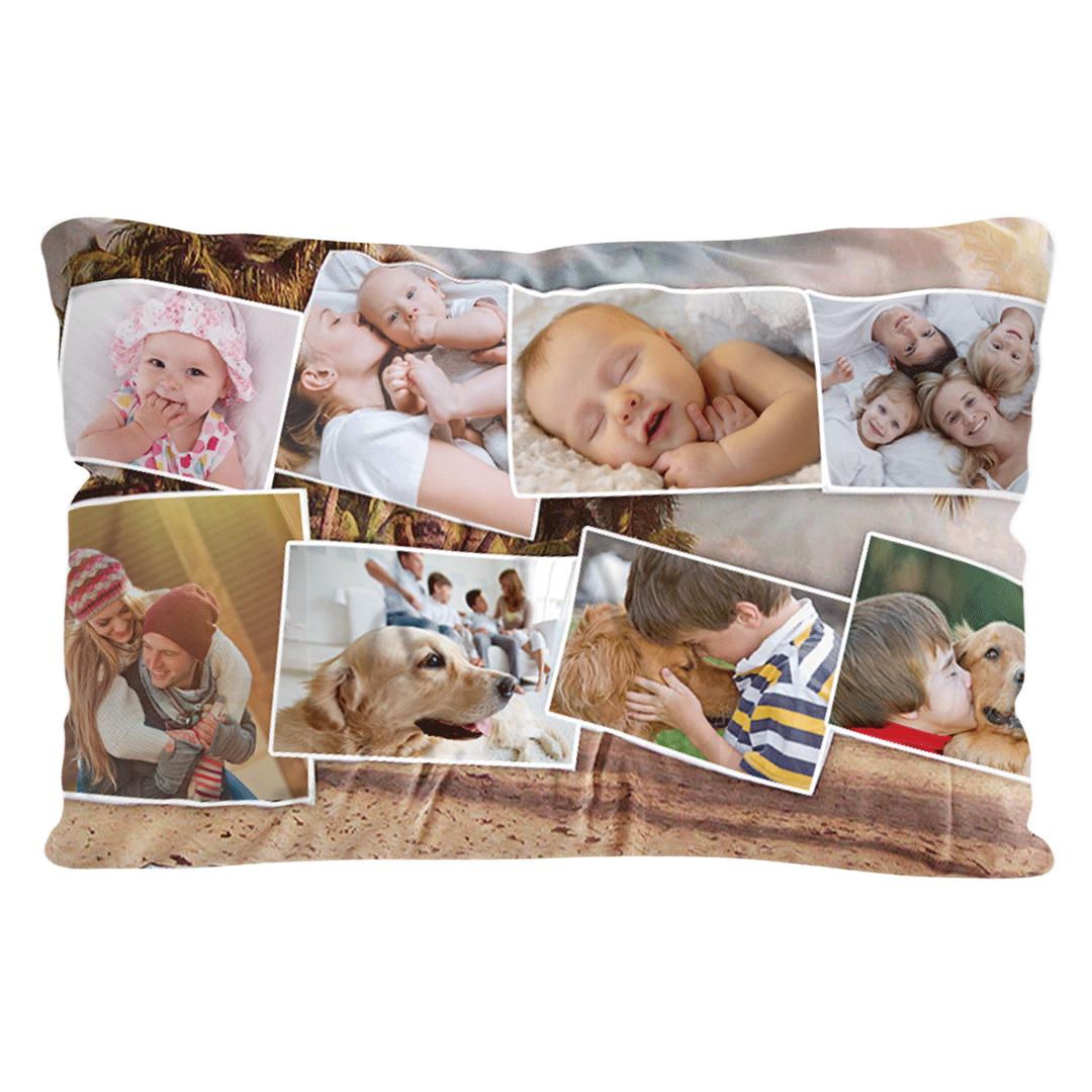 Custom Silk Rectangular Pillow Cover