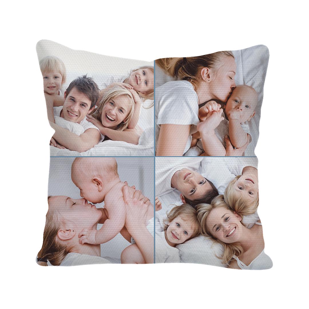 Custom Linen Square Pillow Cover