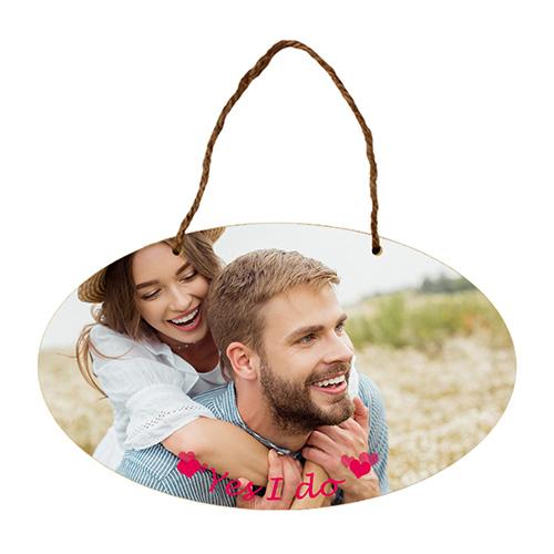 Custom Wood Hanging Ornament