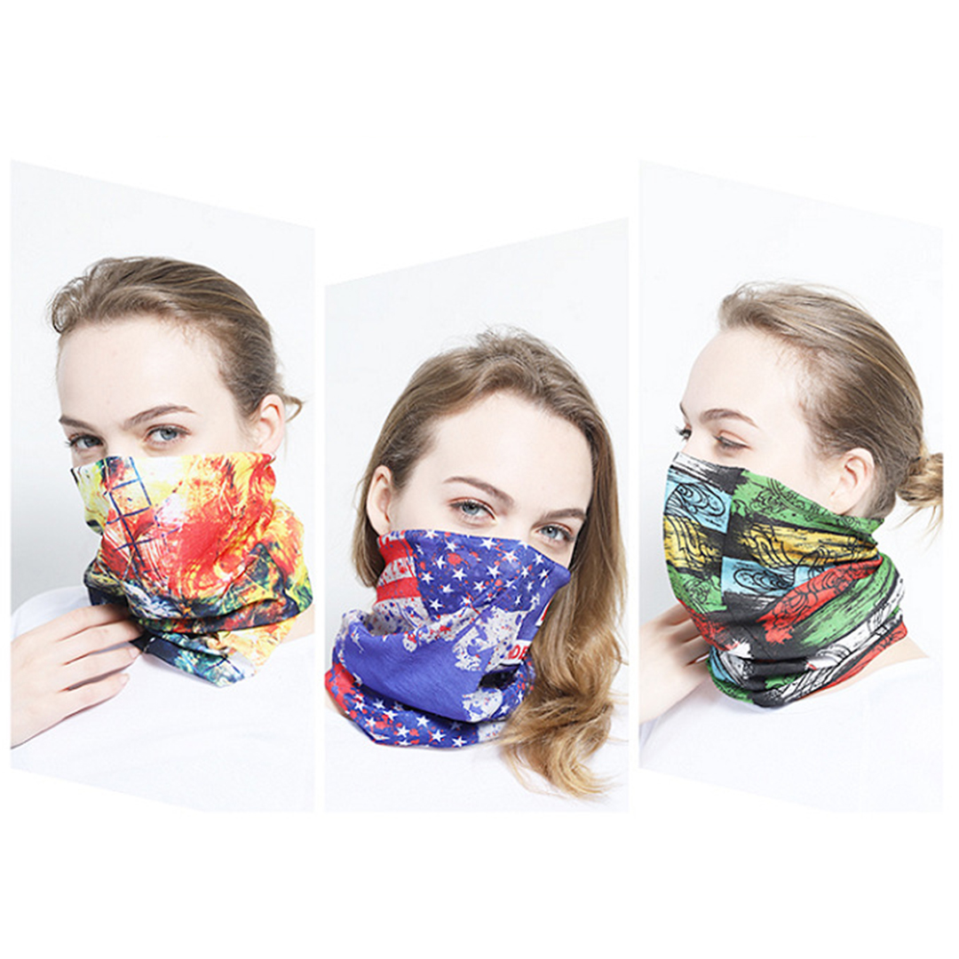 Custom Face Scarf Cover Mask