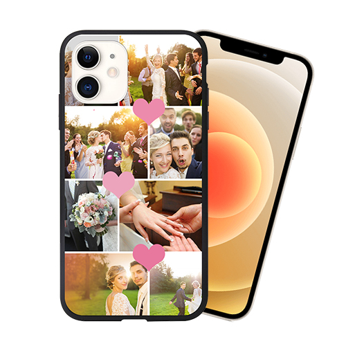 Custom for iPhone 12 3D Matte Case
