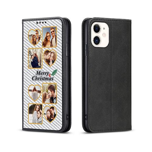 Custom for iPhone 12 Flip Wallet Case