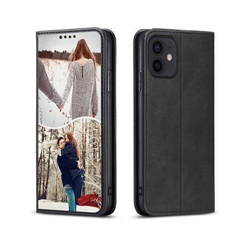 Custom for iPhone 12 Mini Flip Wallet Case