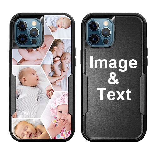 Custom for iPhone 12 Pro Shockproof Case