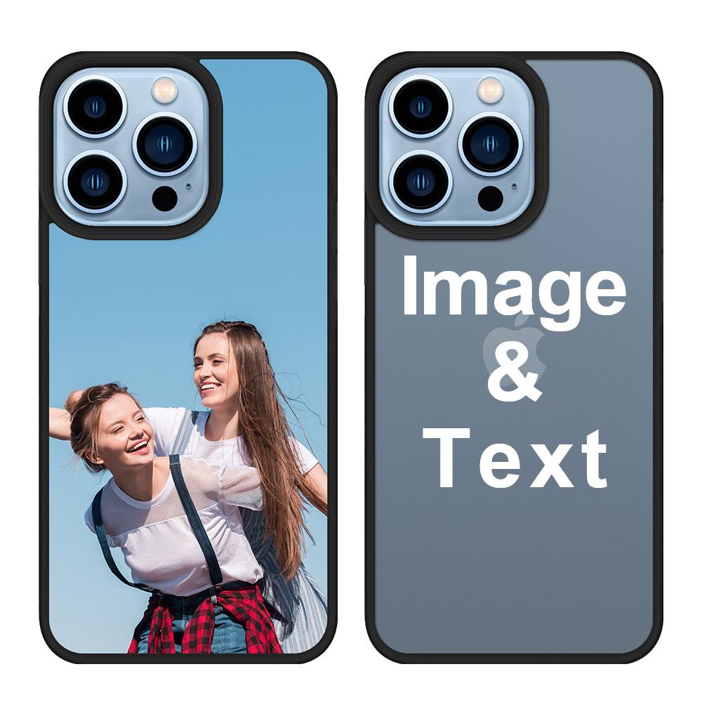 Custom for iPhone 13 Pro 3D Matte Case