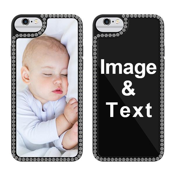 Custom for iPhone 6 Bling Rhinestone Case