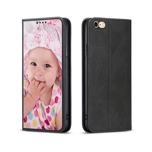 Custom for iPhone 6s Flip Wallet Case