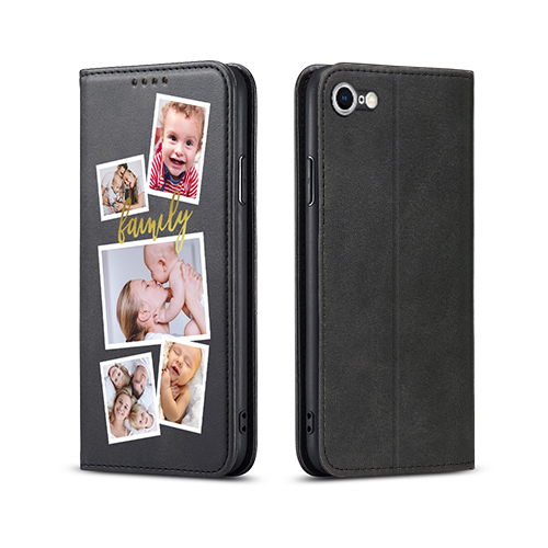 Custom for iPhone 7 Flip Wallet Case
