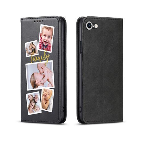 Custom for iPhone 8 Flip Wallet Case