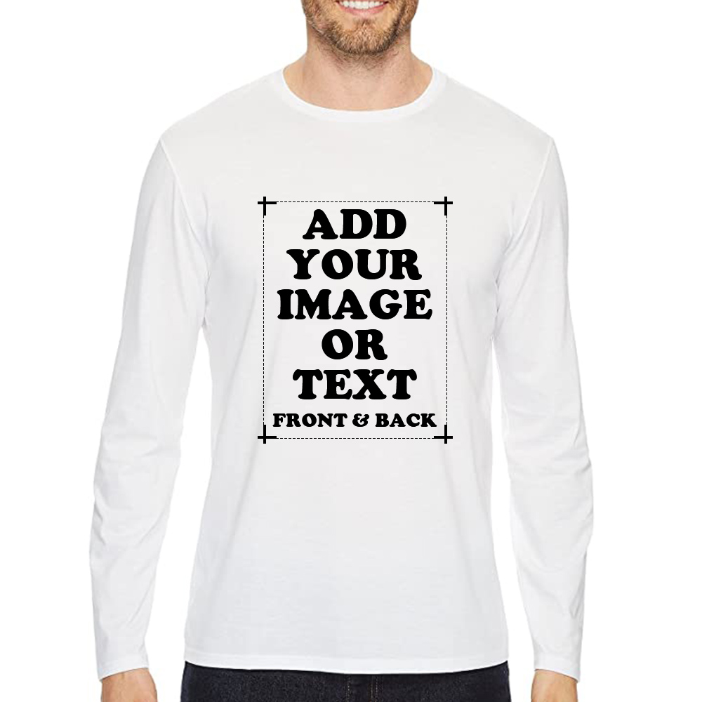 Custom Long Sleeve T-Shirt