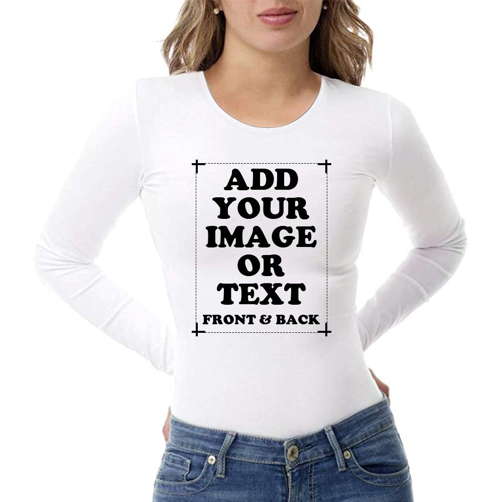 Custom Women's Premium Long Sleeve T-Shirt