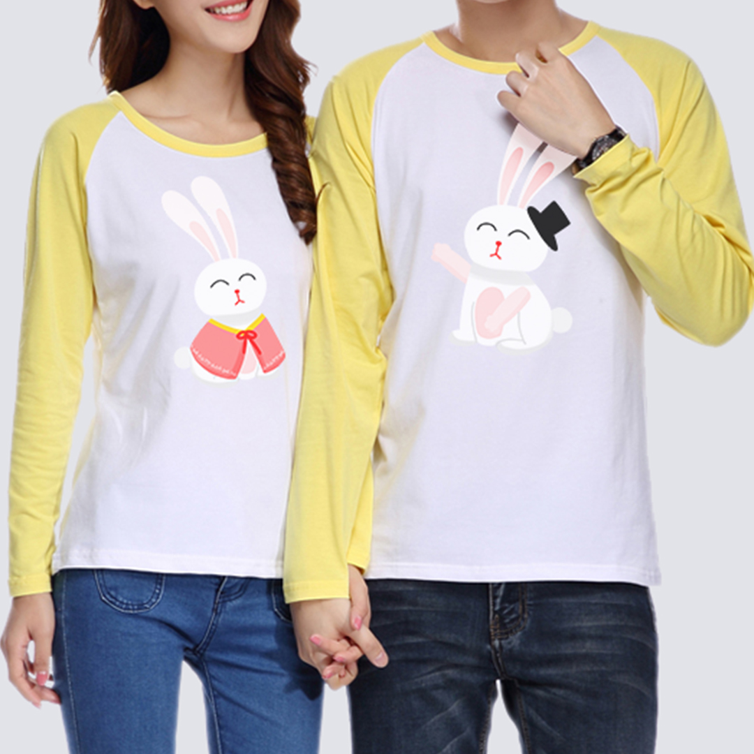 Custom Adult Raglan Long Sleeve T-Shirt