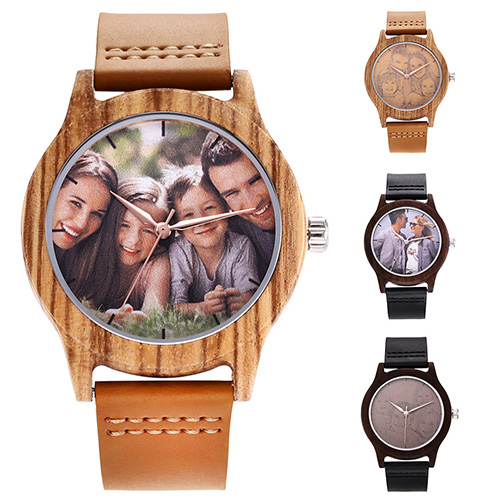 Personalized Photo Wooden Watches