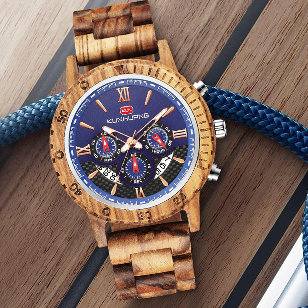 Personalized Text Wooden Watches [1014]