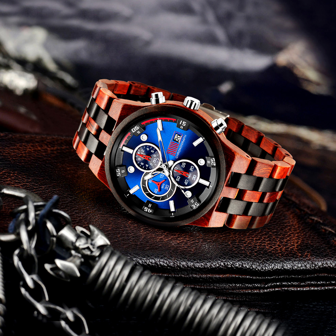 Personalized Text Wooden Watches [1020]